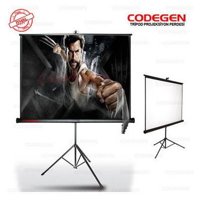 Codegen (tx-20), 200x200 Cm, Tripod Projeksiyon Perdesi Projeksiyon Aksesuarı