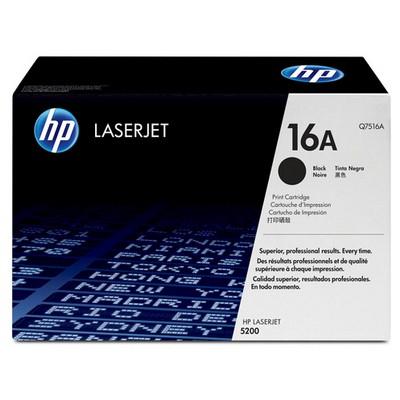 HP Q7516A 16A 12.000 Sayfa Kapasiteli Siyah Toner