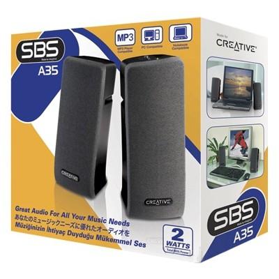 Creative SBS A35 1+1 2W Hoparlör Speaker