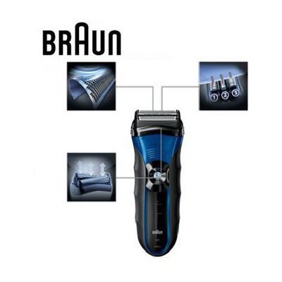 Braun Series 3 340s-4 Islak & Kuru Tıraş Makinesi