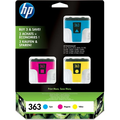 HP CB333E 363 3'lü Renkli Kartuş