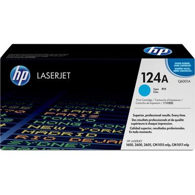 HP 124A Q6001A Toner