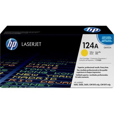 HP 124A Q6002A Toner