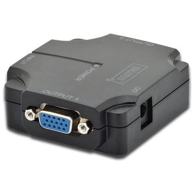 Digitus Ds-41120 2 Port Vga Çoklayıcı Splitter VGA Kablolar