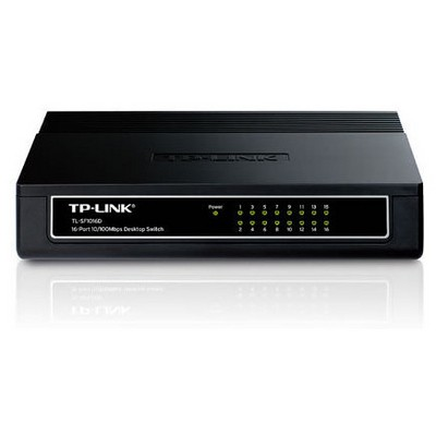 TP-Link TL-SF1016D 16-port 10-100Mbps Masaüstü Switch