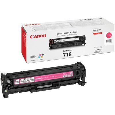 Canon CRG-718M Kırmızı Toner