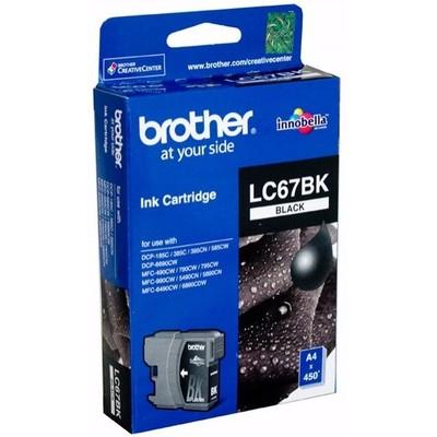 Brother LC67BK Siyah Kartuş