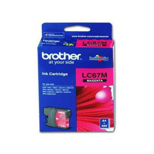 Brother LC67M Kırmızı Kartuş