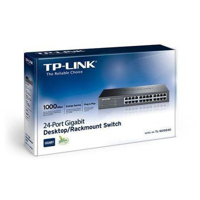 Tp-link TL-SG1024D 24-Port Gigabit Masaüstü/Rackmount Switch
