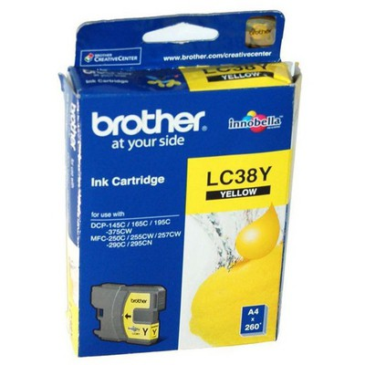 Brother LC38Y Sarı Kartuş