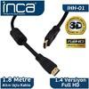 IHH-01 1,8 Metre HDMI 0 Altın