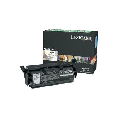 Lexmark X651A11E Toner
