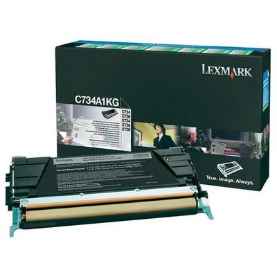 Lexmark C734A1KG Siyah Toner