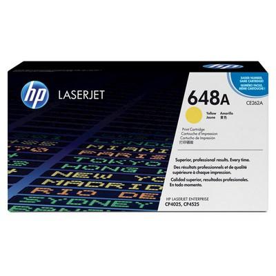 HP 648A CE262A Toner