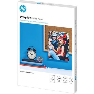 HP Q2510a Gunluk Parlak Fotograf Kagıdı - 100 Yaprak - A4 - 210 X 297 Mm - 200g/m2 Fotoğraf Kağıdı