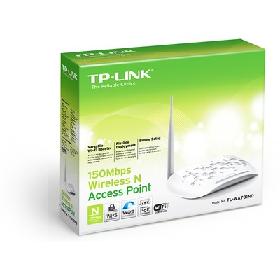 Tp-link TL-WA701ND 150Mbps Kablosuz N Access Point / Repeater