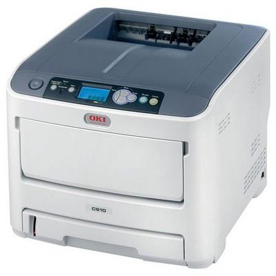 OKI C610N Renkli Laser Yazıcı Lazer Yazıcı