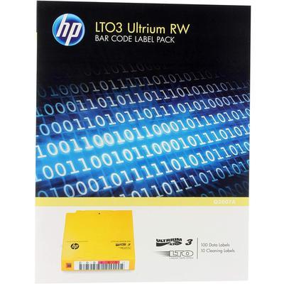 HP Q2007a Lto3 Bakod i 100'lü Paket Etiket