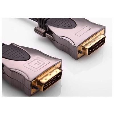 S-Link Slx-m994 1,5 Metre Dvı-dvı Altın Uçlu Metal Kablo Ses ve Görüntü Kabloları