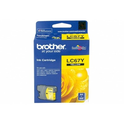 Brother LC67Y Sarı Kartuş