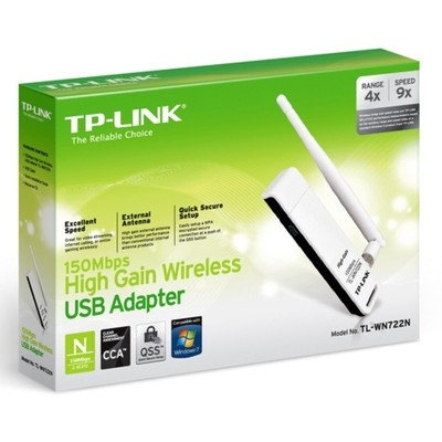 Tp-link TL-WN722N High-Gain Wireless USB Adaptör