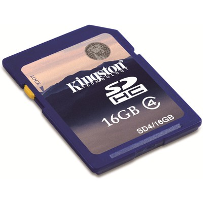 Kingston 16gb Class4 Sdcard - Sd4/16gb SDHC