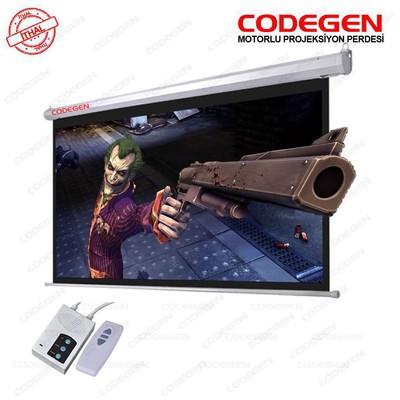 Codegen (EX-20), 200x200 cm, Motorlu Uzaktan Kumandalı Projeksiyon Perdesi