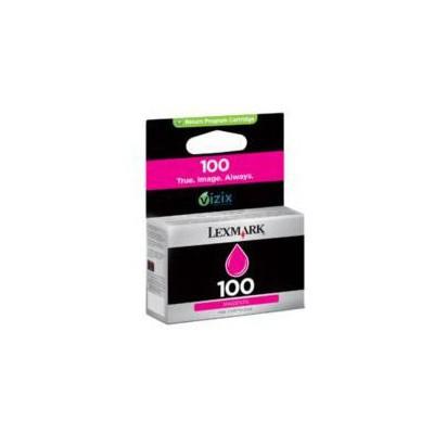 Lexmark 14N0901 100 Kırmızı Kartuş