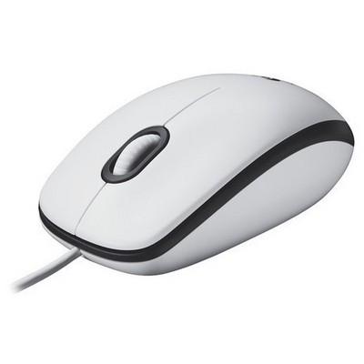 Logitech M100 Mouse - Beyaz (910-001603)