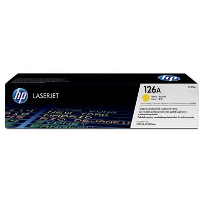 HP 126A CE312A Toner