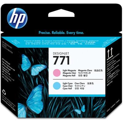 HP 771 Açık Kırmızı Açık Mavi Baskı Kafası CE019A