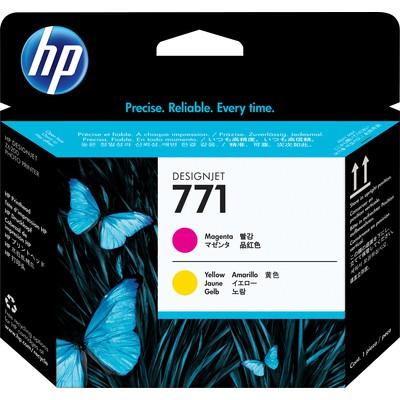 HP 771 Kırmızı Sarı Baskı Kafası CE018A