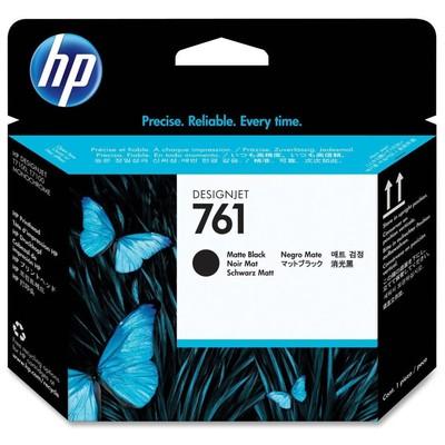 HP 761 Mat Siyah Mat Siyah Baskı Kafası CH648A