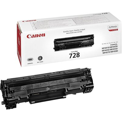 Canon CRG-728 Siyah 2100 Sayfa Toner