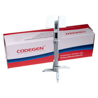 Codegen H18 18-32cm Teleskopik Projeksiyon Tavan - Duvar Askı Aparatı Projeksiyon Aksesuarı