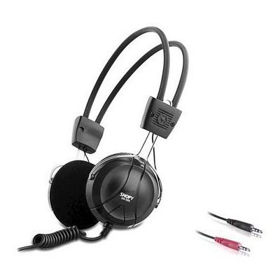 Snopy SN-50A Siyah Mikrofonlu Kulaklık Kafa Bantlı Kulaklık
