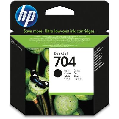 HP 704 Siyah CN692A Kartuş