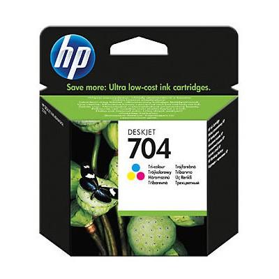 HP 704 Renki CN693A Kartuş