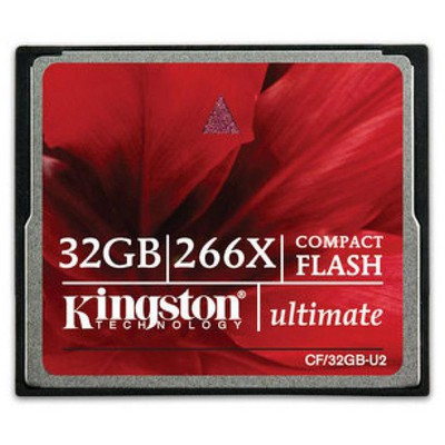 Kingston 32GB 266x Ultimate Compact Flash CF/32GB-U2 CF Bellek