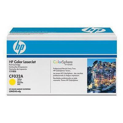 HP 646A Sarı Kartuş CF032A