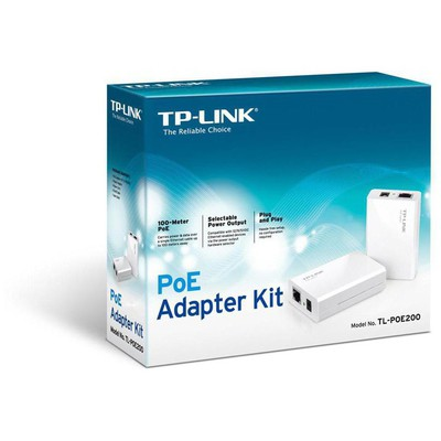 Tp-link TL-POE200 Power over Ethernet Adaptör Kiti