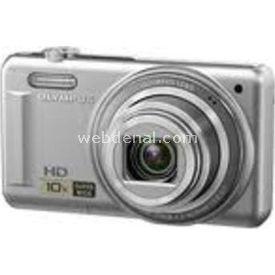 "Olympus D-720 14 MP 3"" LCD Ekran 10X Optik Zoom  Gümüş D-720-GRI Fotoğraf Makinesi"