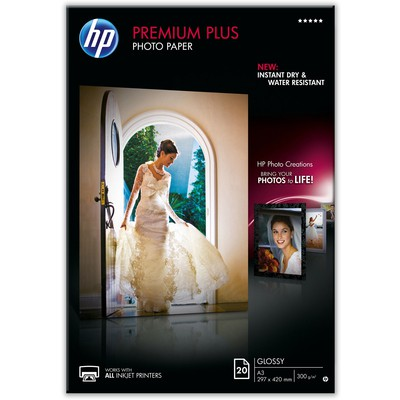 HP Cr675a Premium Plus Parlak  A3 Fotoğraf Kağıdı