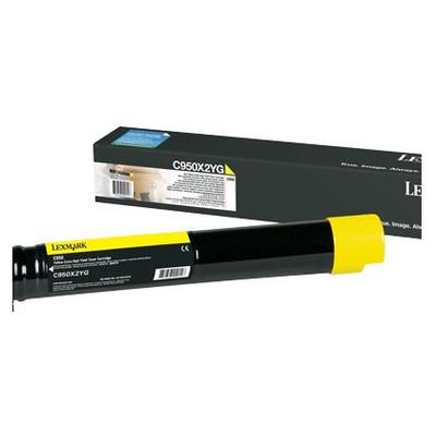 Lexmark C950X2YG Sarı Toner
