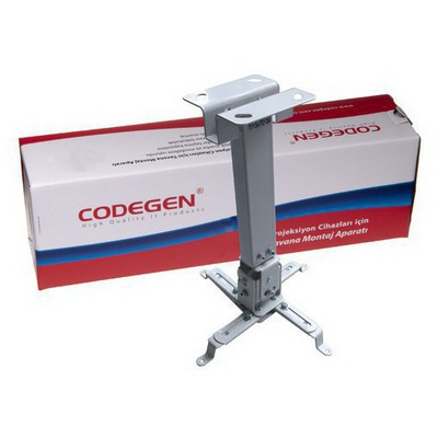 Codegen Cod-p20 20 Cm Duvara Ve Tavana Monte Universal Projeksiyon Tavan Askı Aparatı Projeksiyon Aksesuarı