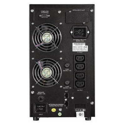 Eaton Edx3000h (3kva) 5/15dk Online-(seri Port) Kesintisiz Güç Kaynağı
