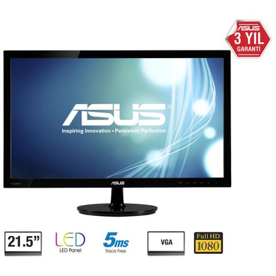 "Asus VS228D 21.5"" 5ms LED Monitör"