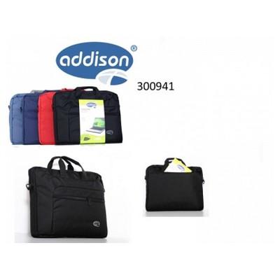 """Addison 300941 17"""" Siyah Notebook Çantası Laptop Çantası"""