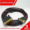 CPD19 3 Metre DVI / VGA Çevirici Kablo M/F