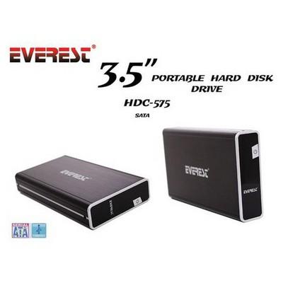 Everest Hdc-575 Harici 3.5 Usb 2.0 Sata Harddisk K Harici Disk Kutusu